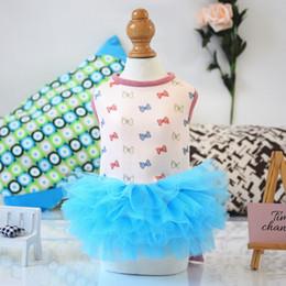 $enCountryForm.capitalKeyWord Australia - Fashion Pet Summer Dogs Clothes T Skirt Dress Small Dog Dress Pet Tutu Dress Wedding For Yorkie Bomei Teddy Poodle Princess