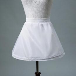 $enCountryForm.capitalKeyWord Australia - No Hoop White Tutu Skirt For Flower Girl Dresses Kids Short Petticoat Child Short Crinoline Petticoats Girls Underskirt
