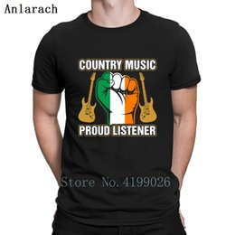 $enCountryForm.capitalKeyWord Australia - Irish Country Proud Listner T Shirt Hot Sale Print Family Cotton Men T Shirt Cool Summer Style Popular Clothes Weird