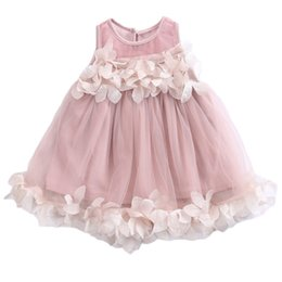$enCountryForm.capitalKeyWord Australia - Pudcoco 2019 Summer Fashion Baby Girls Off shoulder Pink or White Short Sleeves Dress Kids Floral Party Fashion Dresses 2-7Y SS