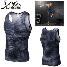 Quick Dry Shirts For Men Australia - Quick-dry Men Compression Tights Fitness Gym Shirts For Running Cycling Vest Homme getafe Sport shirt men