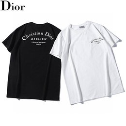 Wholesale crew cuts for sale – custom 20ss men Classic luxury tshirts for male terry handsome Breathable Loose version cutting process Short sleeve Little Bee priting tees