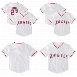 toddler jerseys UK - 6 Anthony Rendon 2020 Infant Toddler Baby 27 Mike Trout Shohei Ohtani Matt Harvey Trevor Cahill Justin Upton Andrelton Simmons Jersey