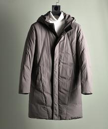 dfb279e9a17 2019 abrigo de pato de hombre con capucha cálida parkas chaqueta larga para  hombre ropa de invierno marrón más grande tamaño grande xxxxxl 3xl 4xl 5xl