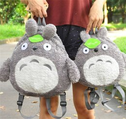 Primary school backPacks online shopping - Cartoon Parenting Backpack Primary And Secondary School Students Leisure Knapsacks Green Leaf Plush Storage Bag Children Day Gifts mz A1