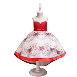 $enCountryForm.capitalKeyWord UK - pearl flower girl dresses for wedding kids designer clothes girls dress party long kids princess dress teenage girls clothing retail A6982