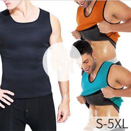 Ingrosso Natural Weight-Loss neoprene Body Workout Shapers di dimagramento T-shirt Ultra sudore Fat Burner Vita Trainer Workout Shapewear S-5XL 6 colori