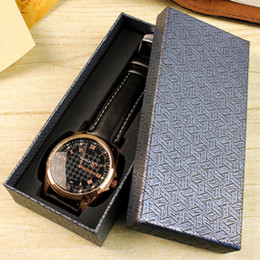 $enCountryForm.capitalKeyWord Australia - Hot Watch Box Special Men Women Watches Gift Packaging Rectangular Universal watch Boxes Long Black Watches Box Custom Spot Wholesale