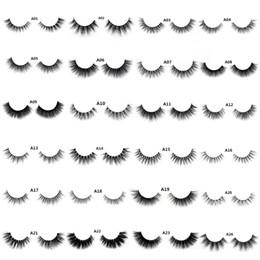 $enCountryForm.capitalKeyWord UK - 2019 False Eyelashes 3d Eyelash Handmade Crossing Lashes Individual Strip Thick Lash Fake Eyelashes A04