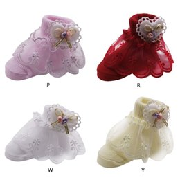 $enCountryForm.capitalKeyWord Australia - Baby girl dot print socks 6-12 months absorb sweat pageant and other special occasion dresses Suitable baby girl socks