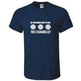 $enCountryForm.capitalKeyWord Australia - Unisex 3 Seashells TShirt - Inspired By Demolition Man Three Sea Shells T Shirt