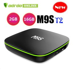 $enCountryForm.capitalKeyWord Australia - 2019 M9S T2 Android ott smart TV Box Allwinner H3 1GB 8GB 2GB 16GB eMMC Flash 4k Streaming Media Player wifi IPTV BOX better HK1 X96 S905W