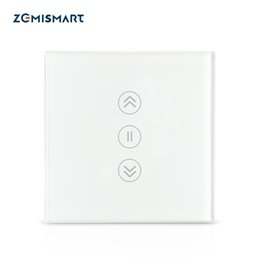 switch remote control electric NZ - Electronics Smart Remote Control [ Backlight Optional ] Zemismart WiFi Curtain Switch Electric Smart Rolller Shade Switches TUYA Alexa Go...