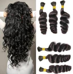 Cheap braid hair online shopping - Unprocessed Curly Braiding Human Hair A Deal Cheap Brazilian Loose Wave Hair Bulk For Micro Braids Top Bulk Hair