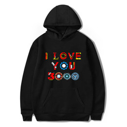 $enCountryForm.capitalKeyWord Australia - 2019 Endgame Hoodie Harajuku Print I Love You 3000 Hooded Men Women Sweatshirt Autumn Winter Clothes Casual Plus Size