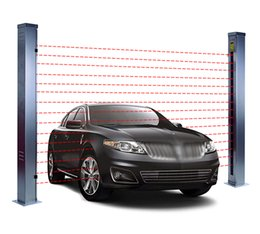 vehicle detection sensors NZ - Safety Light Curtain Vehicle Separation Detection Type Sensor Vehicle Separator Light Curtain Parking Infrared Scanning Vehicles Separator
