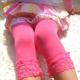 $enCountryForm.capitalKeyWord Australia - Baby Girls Trendy Lace Velvet Legging Children Kids Ballet Bottom Leggings New