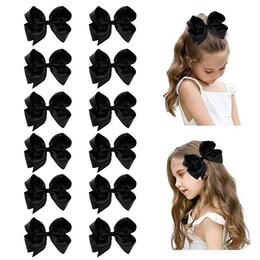 "$enCountryForm.capitalKeyWord Australia - links 6"" Big Hand-made Grosgrain Ribbon Hair Bow Alligator Clips Hair Accessories for Little Teen Toddler Girls"
