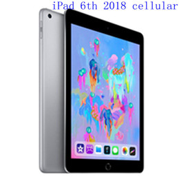 "ipad retina Australia - Original Refurbished Apple iPad 2018 wifi+Celluar iPad 6th Touch ID 9.7"" Retina Display IOS A10 refurbished Tablet support Apple pencil"
