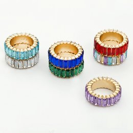 $enCountryForm.capitalKeyWord Australia - 2019 New Arrivals Zircon Ring For Women Multi-color Crystal Red Rings Fashion Jewelry Aritificial Blue Diamonds Free Jewelry