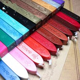 Toptan satış Sızdırmazlık Contası Wax Sopa Retro Signet Özel Amaçlı Kare Zarf Mühürleri Parti Düğün Moda 1 35oc UU