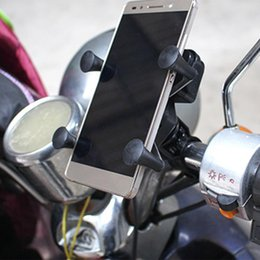 Motorcycle cell phone charger online shopping - Universal Motorcycle Cell Phone Mount Holder Waterproof with USB Charger Degrees Rotation for Phone GPS car