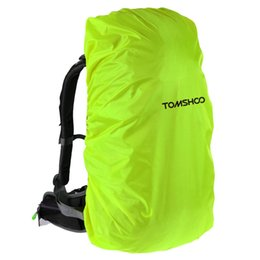 rucksack backpack for camping Canada - TOMSHOO 40L-50L Backpack Rain Covers Bags Unisex Cycling Rucksack Bag Climbing Backpack Dust Cover Waterproof Bag For Camping