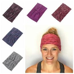 eb264b865735 6 Style Ladies yogo headbands running sports hair bands women elastic  fitness turban absorb sweat turban headbands