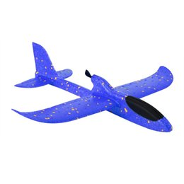 car power antennas Australia - 2019 DIY Electric Assisted Glider Foam Powered Flying Plane Rechargeable Electric Aircraft Model Educational Toys For Children