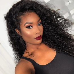 Afro Synthetic Curly Hair Weave Australia - 180% Density Afro Curly Weave Synthetic Hair High Temperature Fiber Glueless Synthetic Wig Long African Kinky Curly Cosplay Wigs Hairstyle