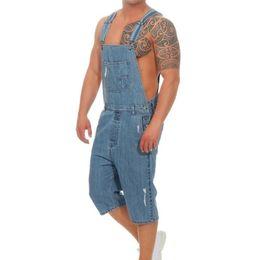 $enCountryForm.capitalKeyWord Australia - Oeak Men's Fashion Denim Overall Jumpsuit New Solid Color Multi-pockets Casual Loose Slim Fit Jeans Playsuit