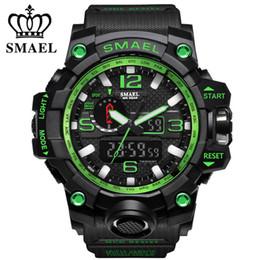 $enCountryForm.capitalKeyWord Australia - SMAEL Men's Watch Top Fashion Brand Luxury Resin Quartz LED Digital Watch Men's Casual Waterproof Sports Watch Men's Relogio Masculino