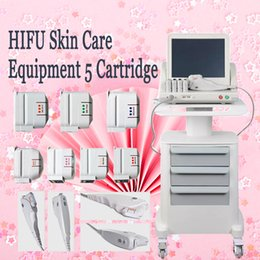 Face Lift For Wrinkles Australia - HIFU Skin Rejuvention skin care machine Beauty Equipment Anti Wrinkle Face Lift 5 cartridges for your choose