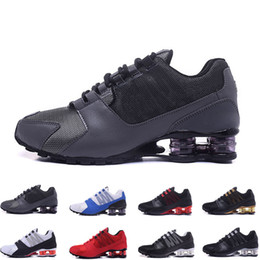Fashion Shox Australia - hot Original Shox Deliver Avenue 803 808 Running Shoes Top Fashion Air TN Chaussures Shox NZ OZ Sports Maxes Sneakers designer shoes