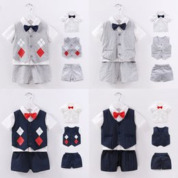 baby clothes factories UK - New Baby Clothing New Baby Vest Three-Piece Spring Autumn and Summer New Baby Vest Factory Wholesale