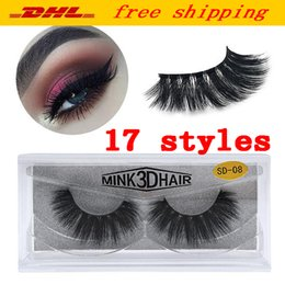 $enCountryForm.capitalKeyWord Australia - 3D Mink Eyelashes Eye makeup Mink False lashes Soft Natural Thick Fake Eyelashes 3D Eye Lashes Extension Beauty Tools 17 styles DHL