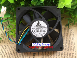 AxiAl fAns online shopping - New Radiator CPU Cooler Fan For Industrial Server PC EFB0812HHB N74 MM V A Wires PWM Axial Cooling RPM