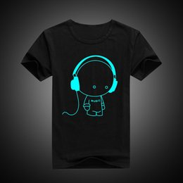 $enCountryForm.capitalKeyWord Australia - Luminous Short Sleeves T-shirts For Boys Girls Superman Batman Boys T Shirt Kids Christmas Baby Top 8 10 12 14 Years Design