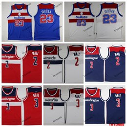 vintage bullets 2019 - 2019 WashingtonWizards John Wall 2 Bradley Beal 3 City Basketball Jerseys Vintage Bullets 23 Michael Jodan Stitched Shir