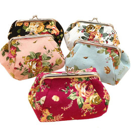 $enCountryForm.capitalKeyWord UK - Women Lady Vintage Flower Small Wallet Hasp Purse Clutch Bag Fashion Casual Women Wallet Mini Coin Purse Gift Carteira