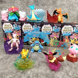 $enCountryForm.capitalKeyWord Australia - 7cm 3inches Pikachu Bulbasaur Charmander Blind Box Spectacles Support Desktop Decor Pencil Vase 8 styles 8 pieces per set LA52