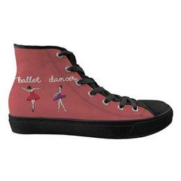 Scarpe da ginnastica per ragazze rosa primavera su misura Scarpe da ginnastica per balletto modello vivace per donna