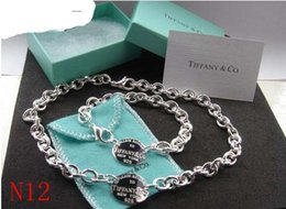 Bracelet Zirconia Silver Australia - Women Free Shipping 2019 Hot 925 Silver fashion jewelry necklace and bracelet original packaging gift boxes Set