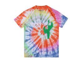 6dedfd2b4ff0 8 Fotos Camisas de turismo ? venda-New Travis Scott Tour Gravata Graffiti  Tie Dye Homens e