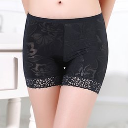 $enCountryForm.capitalKeyWord NZ - Women Pants Lace Floral Stretchy Underwear Shorts Seamless Safety Pants Breathable Tights Under Skirt Briefs#0221