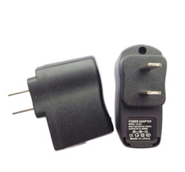 Ego T Adapter Australia - EGO Wall Charger Black USB AC Power Supply Wall Adapter Adaptor MP3 Charger USA Plug work for EGO-T EGO Battery MP3 MP4 Black
