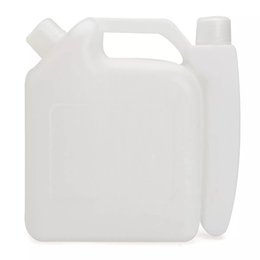 Mixed Tank UK - 1L 2 Stroke Oil Petrol Fuel Mixing Bottle Tank Container 25:1 50:1 for Chainsaw Trimmer