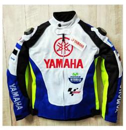 $enCountryForm.capitalKeyWord Australia - NEW 2019 Summer Motocross Racing For Yamaha Blue and White Racing Jacket Autombile Race Clothing Motorcycle Clothes