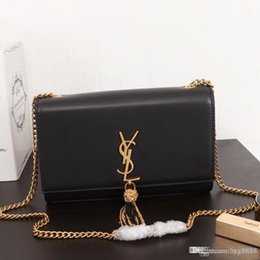 Production Chains NZ - Women's one-shoulder bag handbag, leather production, large capacity, chain metal decoration, fashionable and generous, 471642