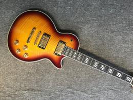 Guitar One Piece Neck Australia - NEW 1959 R9 electric guitar, sunburst one piece of body & neck frets binding electric guitar with Tune-o-Matic bridge, free shipping